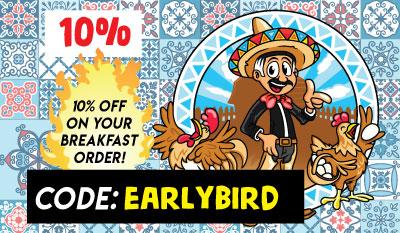Early Birds Get Discounts!